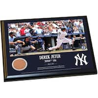 Derek Jeter Moments DJ3K 8x10 Dirt Plaque