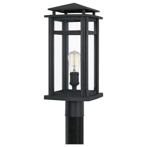 Quoizel Granby Earth Black 1-light Outdoor Post Light