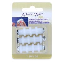 Artistic Wire, Wire Straightener Tool, Compact and Easy-to-Use, 1 Piece