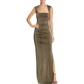 Nicole Miller Womens Felicity Evening Dress Metallic Pleated|https://ak1.ostkcdn.com/images/products/is/images/direct/36a2423f2475f3edcd378b11cba8e719d34266cc/Nicole-Miller-Womens-Felicity-Evening-Dress-Metallic-Pleated.jpg?impolicy=medium