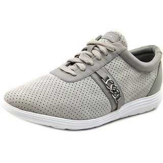Cole Haan Bria Grand Women Leather Gray Fashion Sneakers