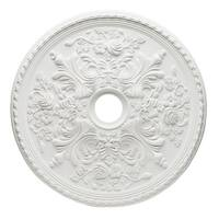 """Westinghouse 7775400 28"""" Ceiling Medallion from the Cape May Collection"""