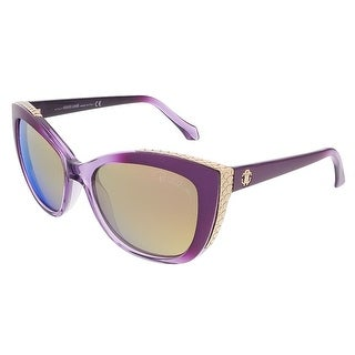 Roberto Cavalli RC888S/S 81C Shiny Violet Cat Eye sunglasses - 54-17-135