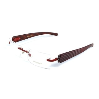 Boucheron Unisex Rimless Eyeglasses Red - S