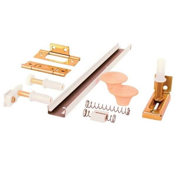 Shop PrimeLine In Folding Door Hardware Kit Free - Picnic table hardware kit