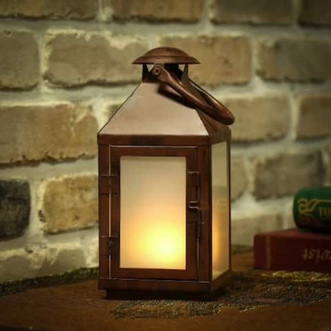 Flaming Lights Metal LED Lantern