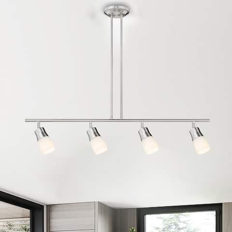 4-Light Integrated LED Track Lighting Kit - L45*H30.5*D6