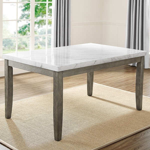 The Gray Barn Ellington Marble Top Dining Table. Opens flyout.