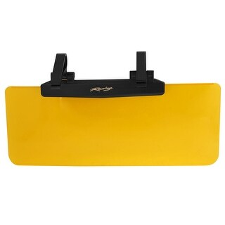 Unique Bargains 36cm x 14.5cm Reflective Sun Shade Orange Clear for Auto Car Window Windscreen