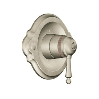 Moen TS3110  Single Handle ExactTemp Thermostatic Valve Trim Only from the Waterhill Collection (Less Valve)