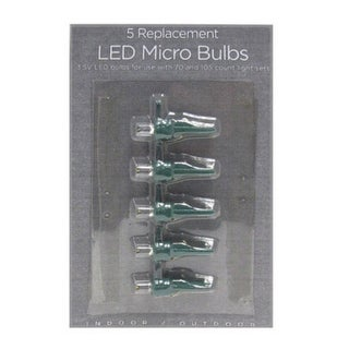Celebrations 11211-71 Micro LED Replacement Bulbs, Warm White