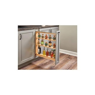 Rev A Shelf 438 BC 3C 438 Series 6 Inch Base Cabinet