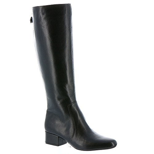 Anne Klein Womens Camden Wide Calf Leather Closed Toe Mid-Calf Fashion Boots - 6