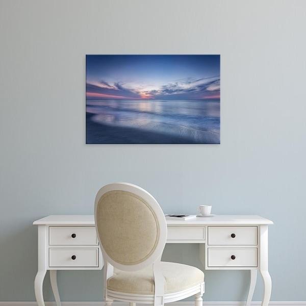 Easy Art Prints Robert J. Amoruso's 'Atlantic Sunrise No. 7' Premium Canvas Art