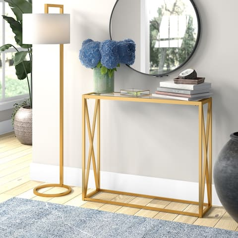 Arlo Blackened Bronze Console Table