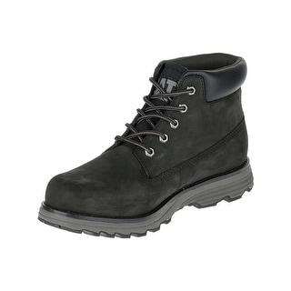 Caterpillar Mens Founder Boots in Black