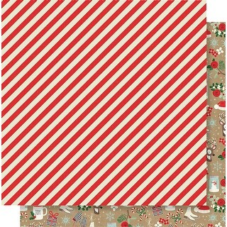 "Merry & Bright Double-Sided Cardstock 12""X12""-Sparkle & Shine"