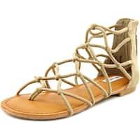 Not Rated Genevie Women  Open Toe Canvas  Gladiator Sandal