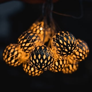 CRYSTALITES- Solar Powered Decorative String Lights