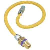 Brass Craft 1/2X3/8-36 Gas Connector CSSL47R-36P Unit: EACH