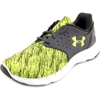 Under Armour 1265339 Youth Round Toe Canvas Green Running Shoe