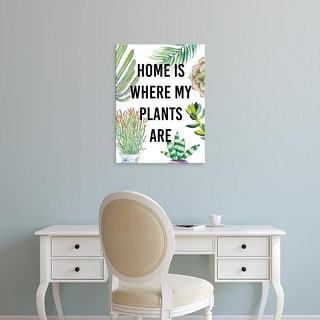 Easy Art Prints Studio W's 'Plant Love VI' Premium Canvas Art