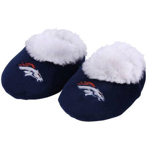 Denver Broncos NFL Baby Bootie Slipper - Blue