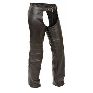 Kids Classic Leather Motorcycle Chaps