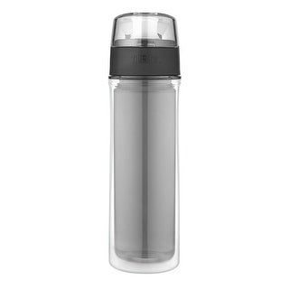 Thermos 18 Oz Double Wall Tritan Hydration Bottle (Smoke Grey)