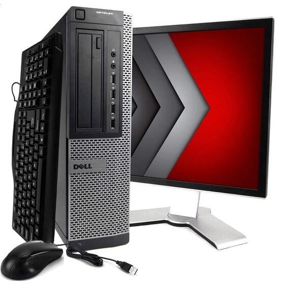 """Dell GX990 SFF intel i5 2400 3.0GHz 8GB 500GB W10 H 19"""" Refurbished"""