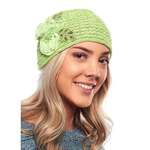 Buttercup Blizzard Knit Winter Headband