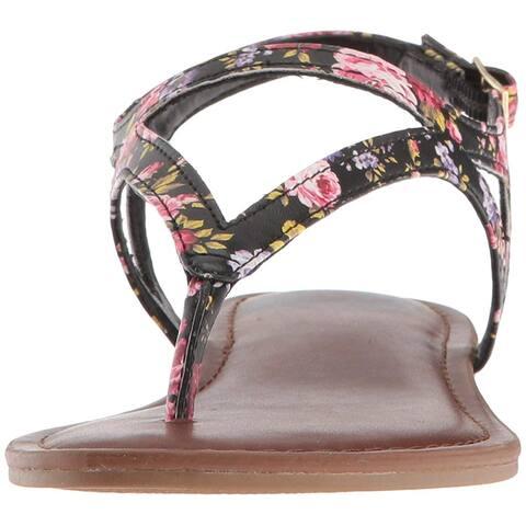Fergalicious Womens Sizzle Open Toe Casual Ankle Strap Sandals