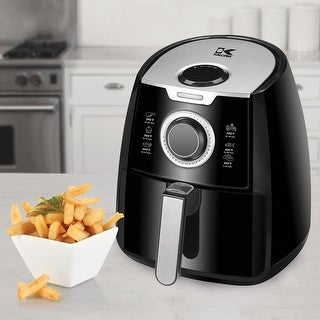Kalorik Dual Layer Air Fryer - Oil Free Appliance for Frying, Baking, Grilling and Roasting Up to 2 lbs. of Food