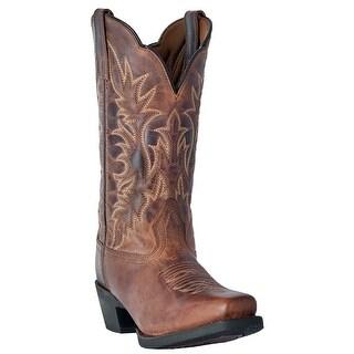 Laredo Womens Lad 11 Distressed Cs Toe, Tan