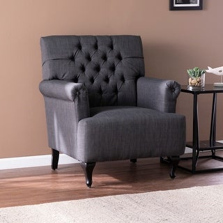 Link to Copper Grove Amberton Traditional Fabric Armchair Similar Items in Living Room Chairs