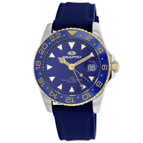 Seapro Men's Blue Dial Watch - SP0124 - One Size