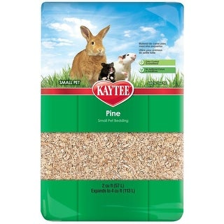 Kaytee 100032048 Natural Pine Small Pet Bedding and Litter, 4.0 Cuft