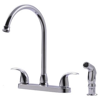Ultra Faucets UF2104 Vantage Kitchen Faucet With Side Spray