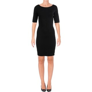 Ralph Lauren Womens Bodycon Dress Pullover Sheath