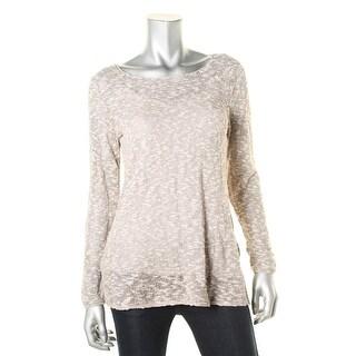 Nic + Zoe Womens Knit Marled Tunic Sweater - M