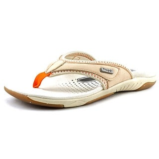 Propet Hartley Women 2A Open Toe Leather Nude Thong Sandal