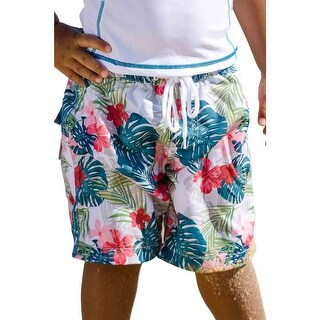 Sun Emporium Baby Boys Multi Color Havana Print Board Shorts