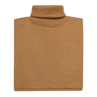 Women's Turtleneck Dickie - Lightweight Mock Sweater - One size (Option: Red)
