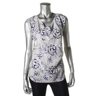 Rebecca Taylor Womens Silk Printed Blouse - 8