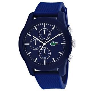 Lacoste Men's Classic Blue Dial Watch