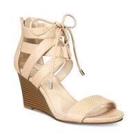 Alfani Womens Karlii Open Toe Casual Platform Sandals