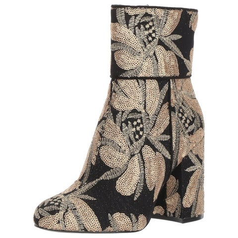 Steve Madden Womens Goldie Fabric Closed Toe Ankle Fashion Boots
