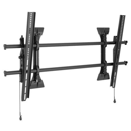 "Chief Xtm1u X-Large Fusion Micro Adjustable Tilt Wall Mount For Flat Panel 55 To 82"" Displays 250Lb Weight"