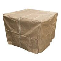 AZ Patio GS-F-PCHDCV Heavy Duty Waterproof Propane Fire Pit Cover - Tan