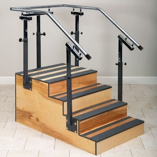 """Clinton Adjustable One-Sided Therapy Stairs 36"""" Width"""